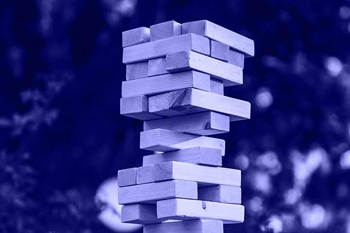 OmniTrack360 image of stacked blocks to illustrate it being a foundation